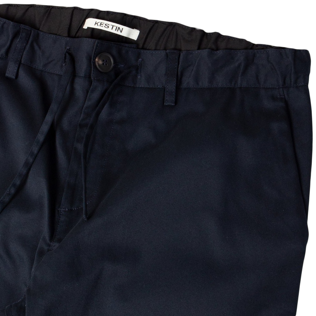 Inverness Stretch Twill Tapered Pants - Midnight