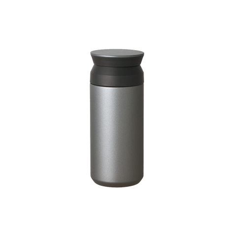 350ml Travel Tumbler - Matte Silver