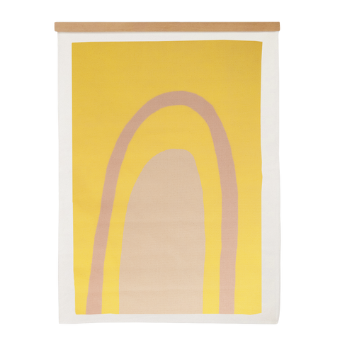 Ellipse Gold Canvas - 27x36