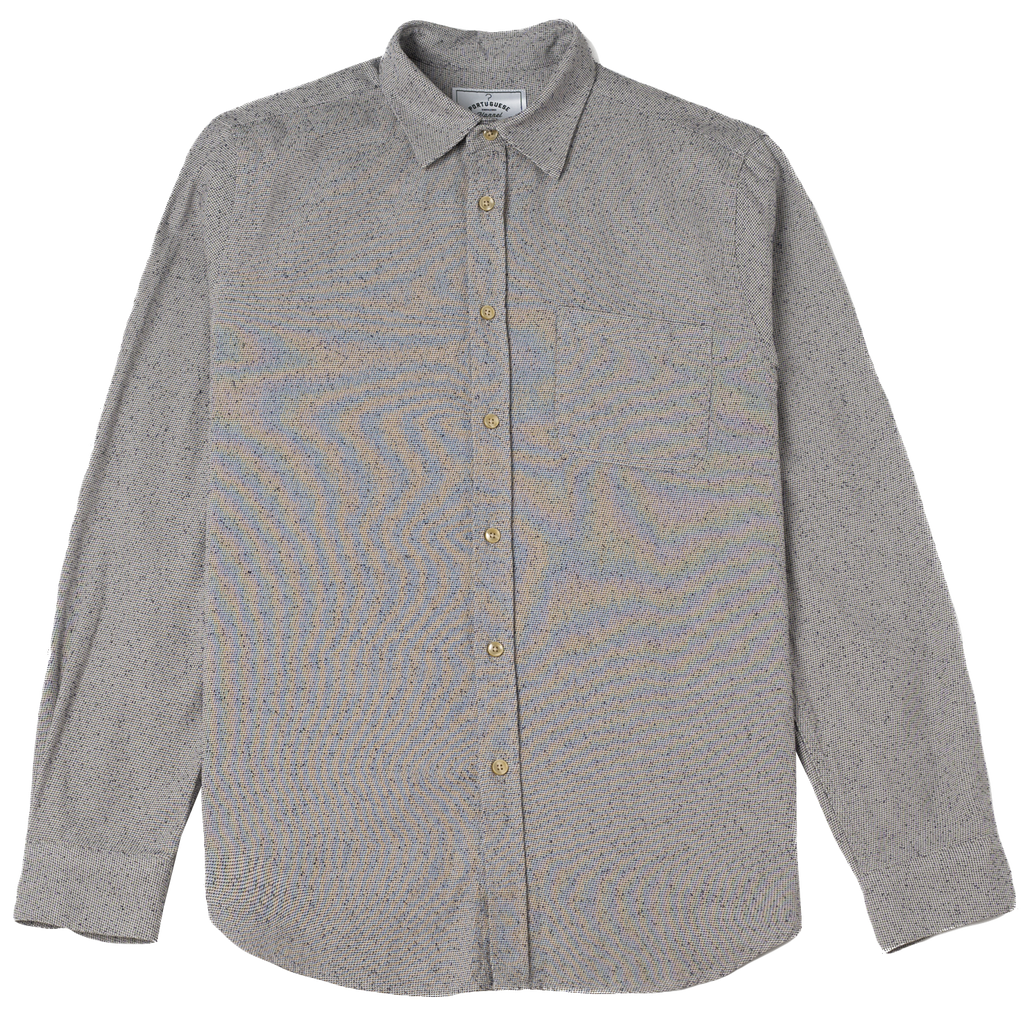 Tough Fleck Shirt - Light Grey