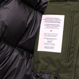Belfort Down -30° Jacket - Military Green