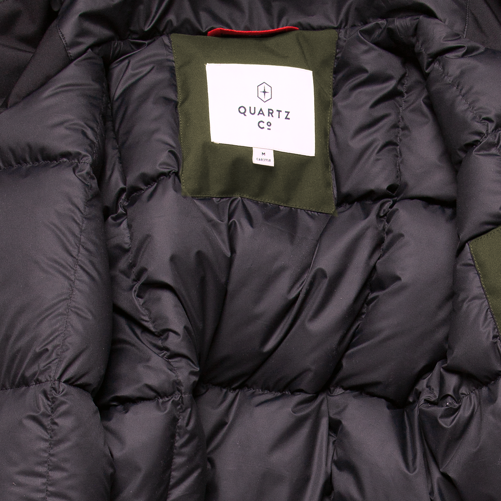 Clark Fishtail Down -30° Jacket - Military Green