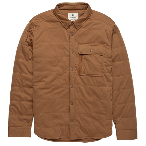 Flexible Insulated Shirt - Tan Polartec Alpha