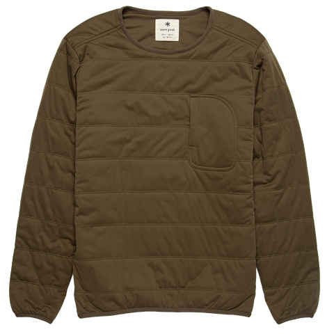 Flexible Insulated Pullover - Olive Polartec Alpha
