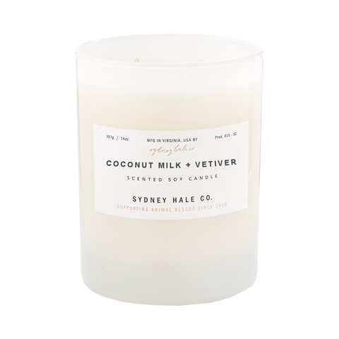 Coconut Milk + Vetiver