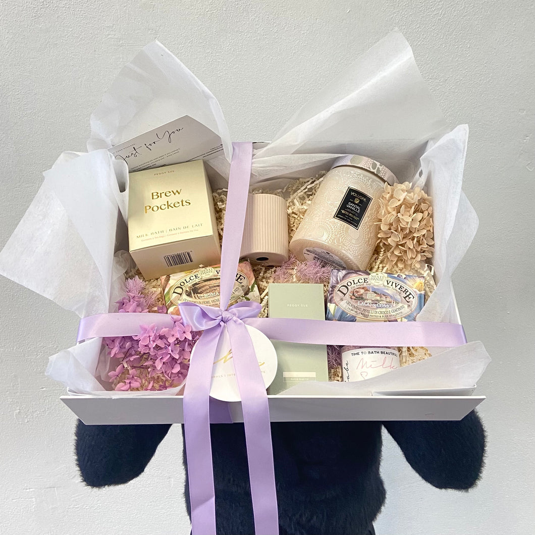 Mauve Lux Box