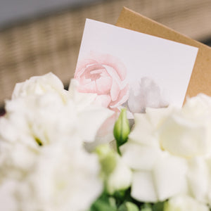 Mother's Day White Floral Gift Box