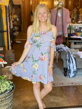 Load image into Gallery viewer, LILAC FLORAL DRESS