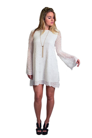Motel Danny Scallop Lace Dress