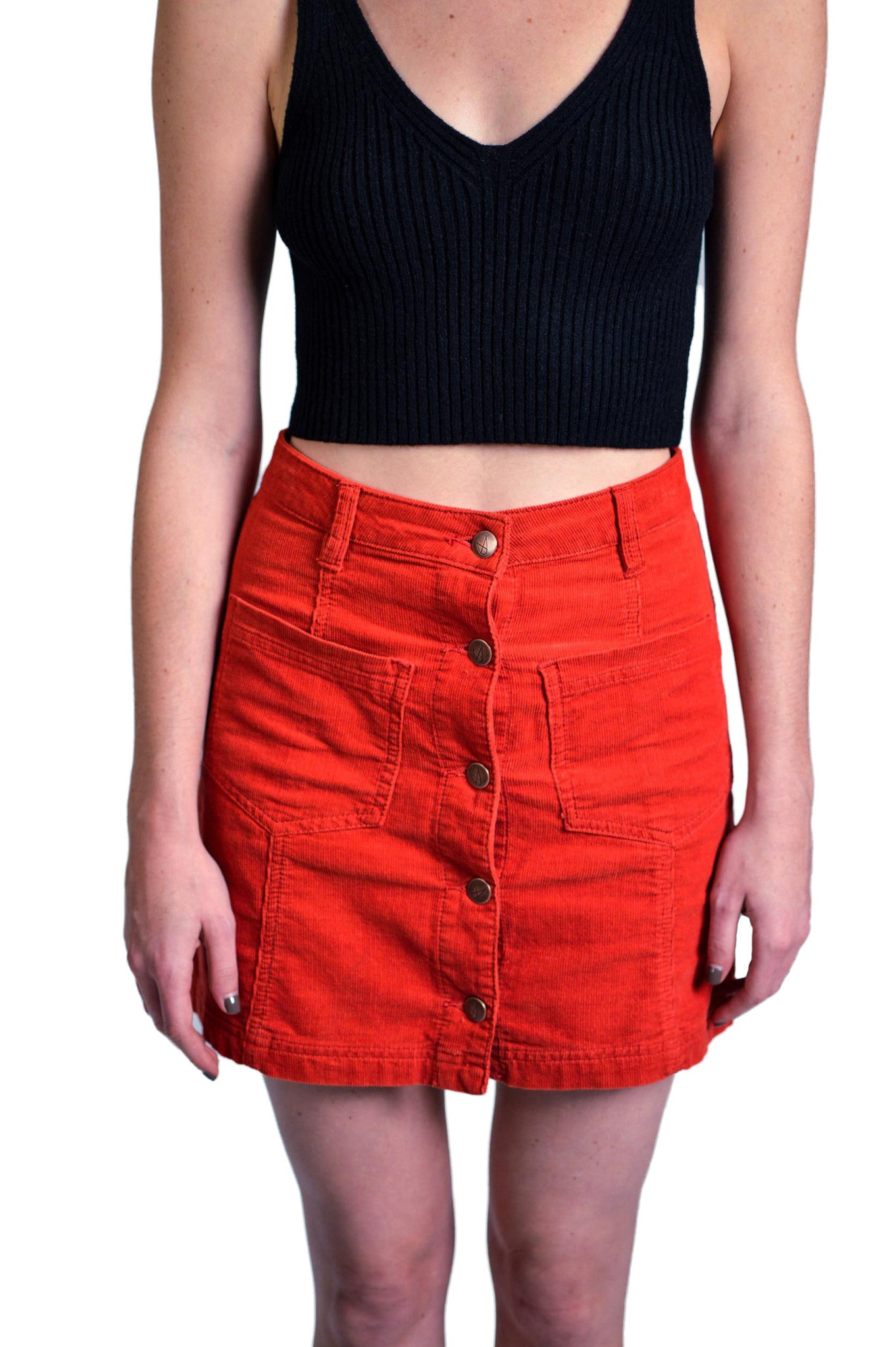 Mink Pink Patch Cord Skirt