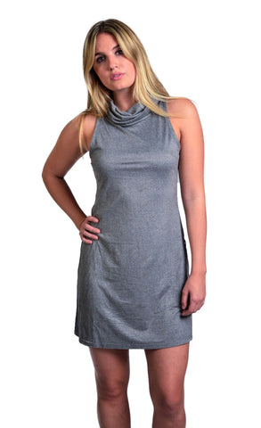 Mink Pink Urban Escape Roll Neck Dress