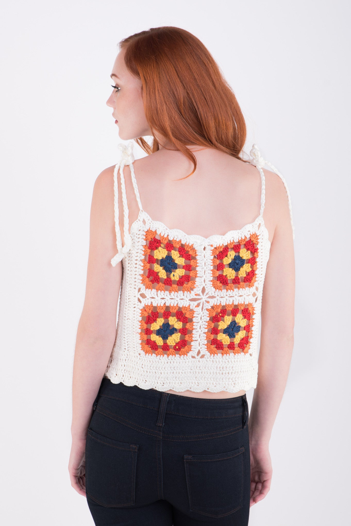 Hi-Five Crochet Tank Top