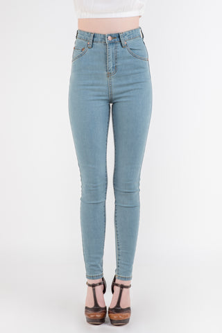 MinkPink Showdown High Skinny Jeans