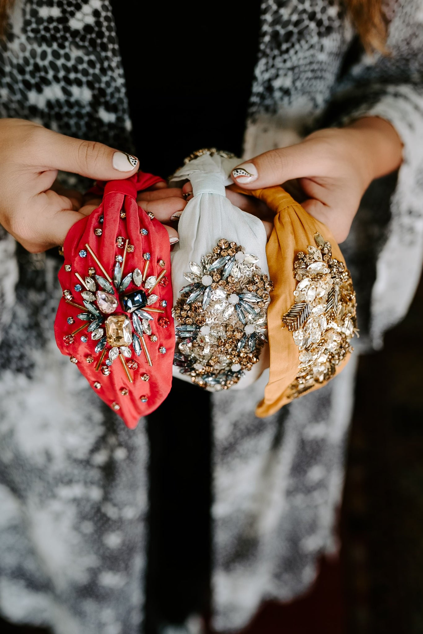 Fall/Holiday Bejeweled Headbands