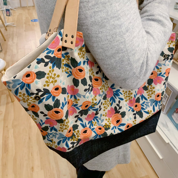 Bloom Floral Convertible Tote