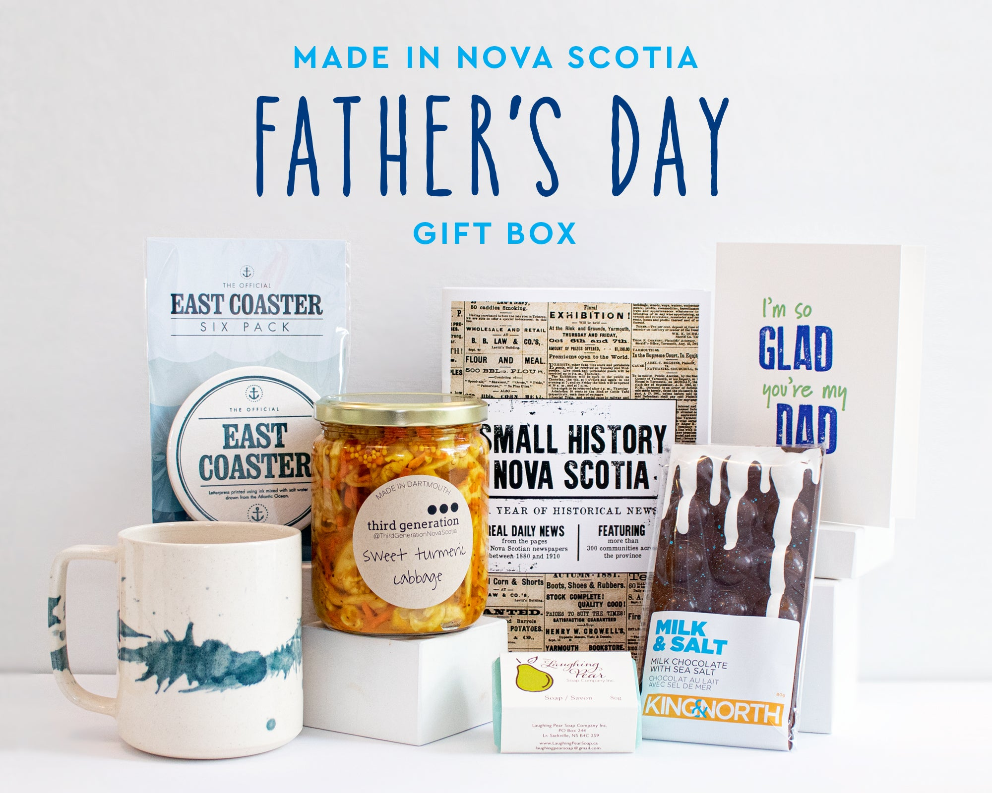 Made in Nova Scotia Father's Day Gift Box