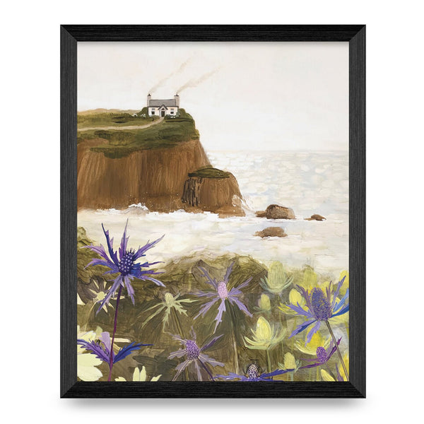 House by the Sea Print