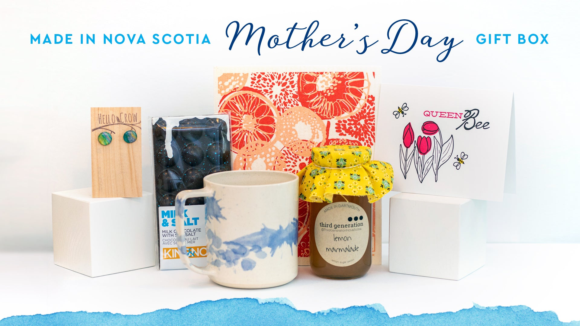 Made in Nova Scotia Mother's Day Gift Box