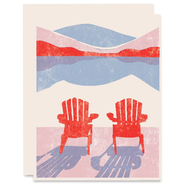 Next To You Adirondack Card