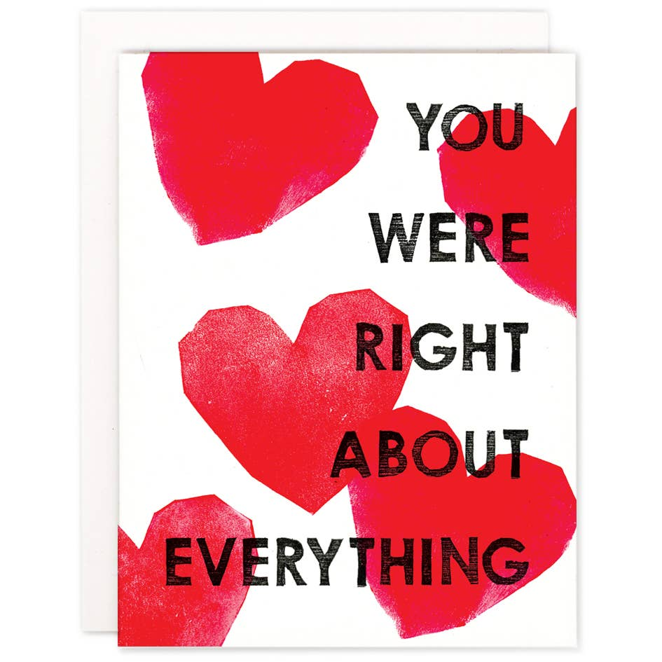 Right About Everything Card