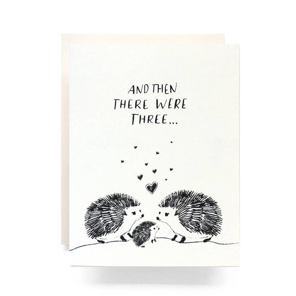Baby Hedgehog Card