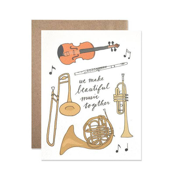 Beautiful Music Card