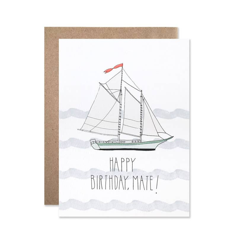 Birthday Mate Card