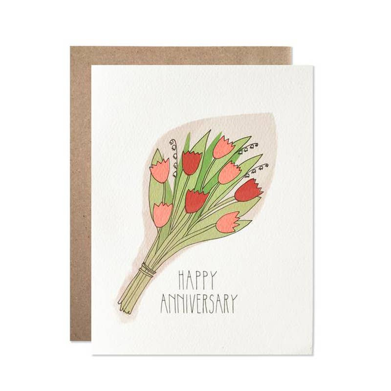 Anniversary Bouquet Card