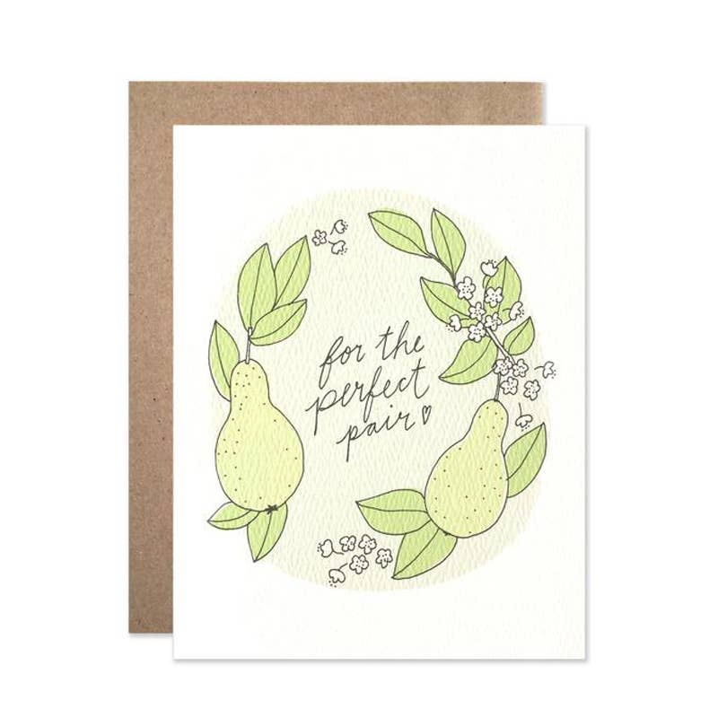 Perfect Pair Wedding Card