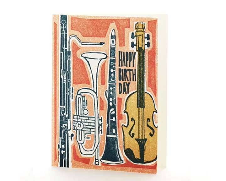 Music Happy Birthday Card