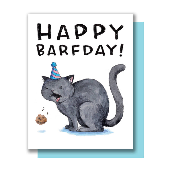 Happy Barfday Card