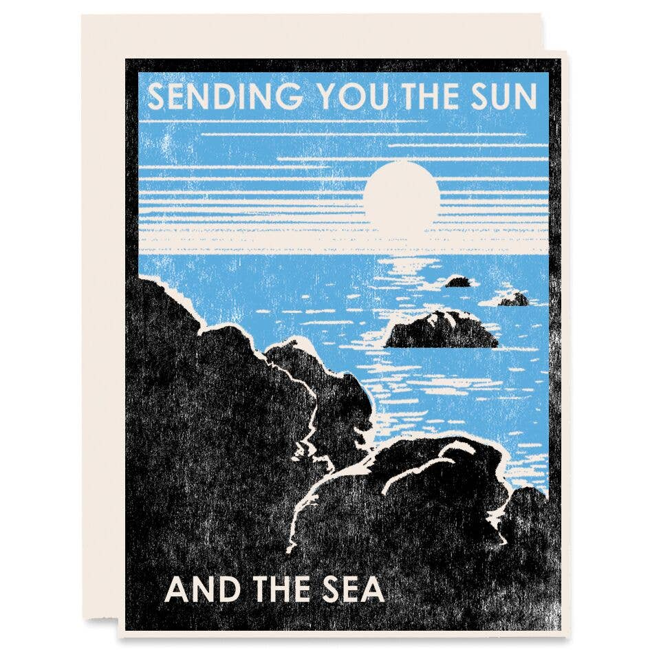 Sending You Sun & Sea Card