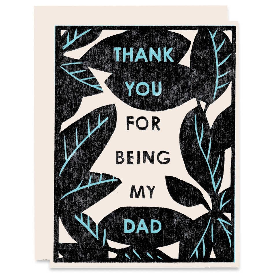 Thank You Dad Card