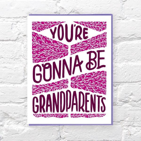 Gonna Be Grandparents card