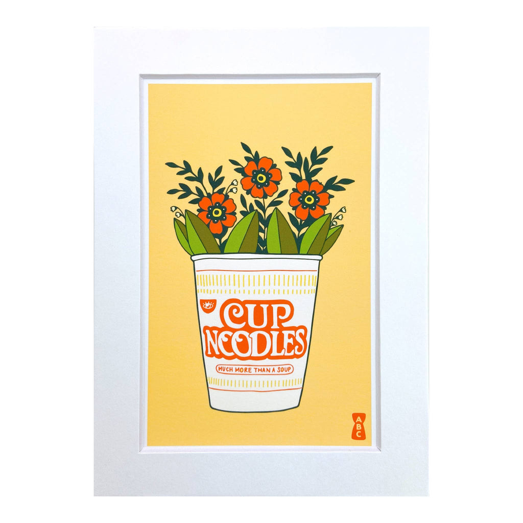Cup of Noodles Art Print