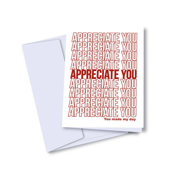 Appreciate You Card