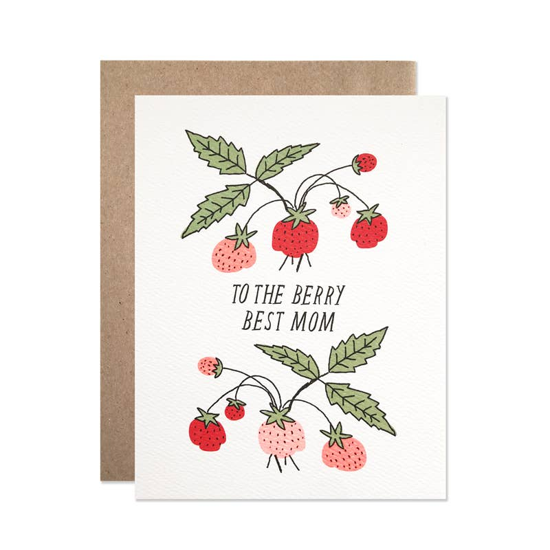 Berry Best Mom Card