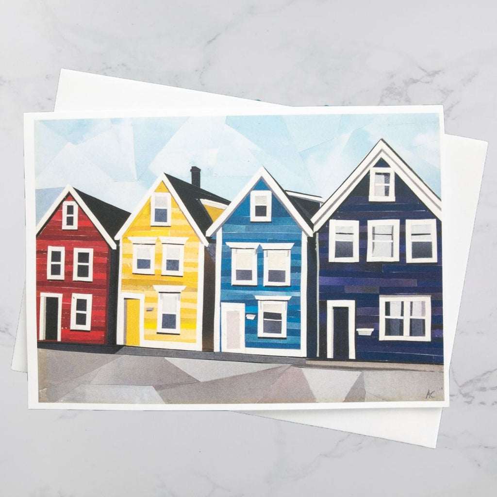 Agricola Street House Collage Card