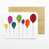 Balloon Bday Card