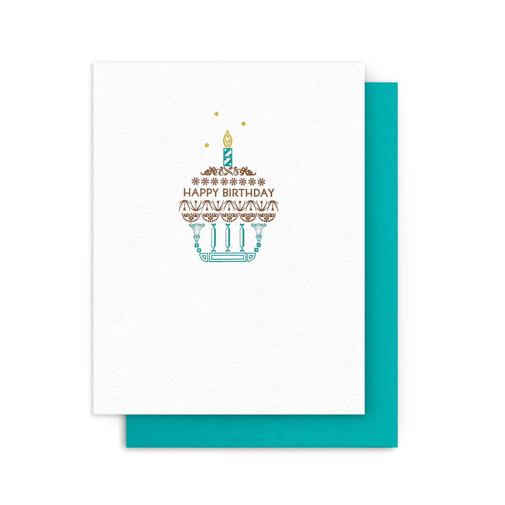 Birthday Cupcake Candle Card