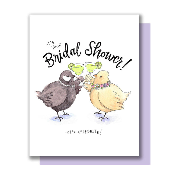 Bridal Birds Card