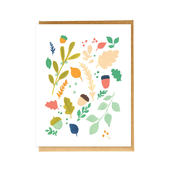 Colourful Nature Card