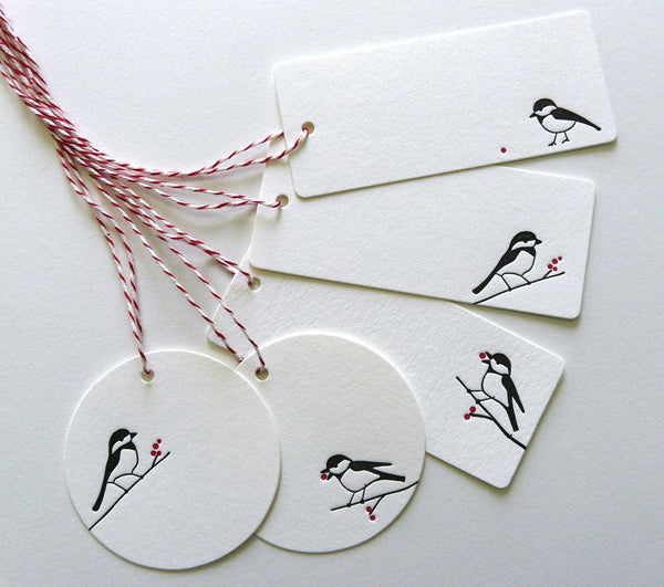 Chickadee Gift Tags (10)