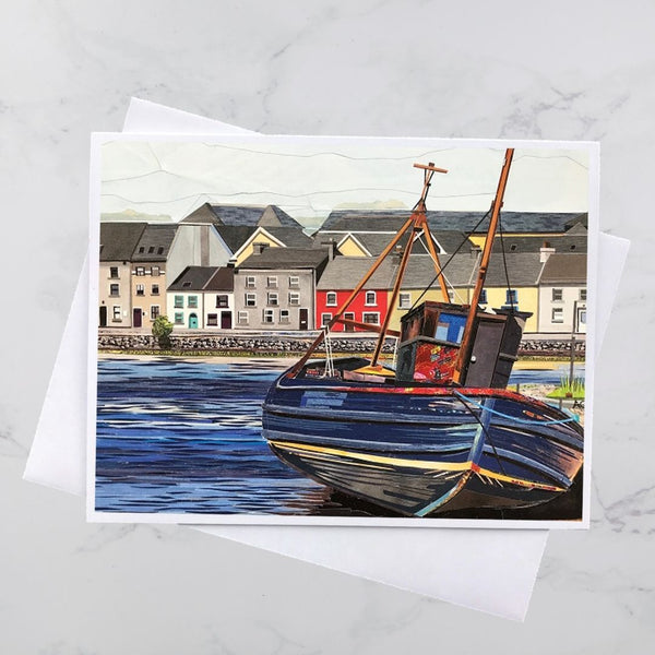 Claddagh Collage Card