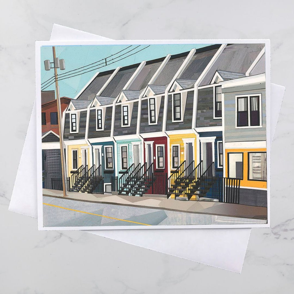 Cornwallis Street Collage Card