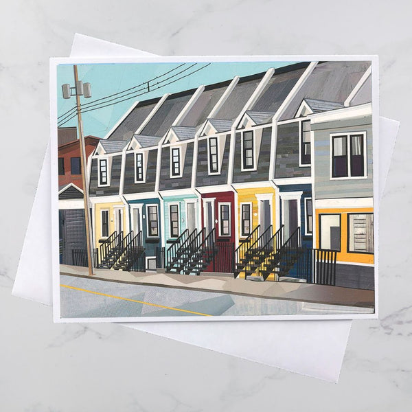 Cornwallis Street House Collage Card