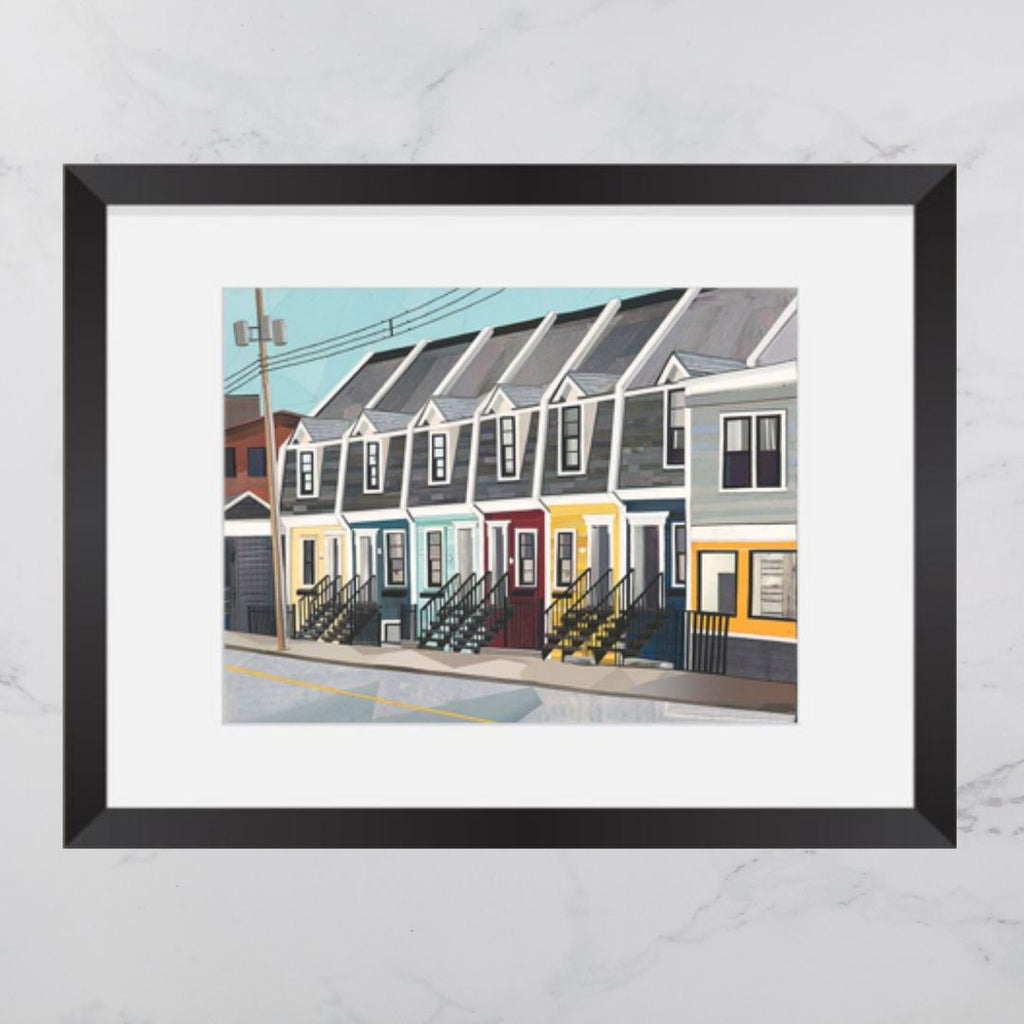 Cornwallis Street House Collage 8x10 Print