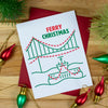 Ferry Christmas Card