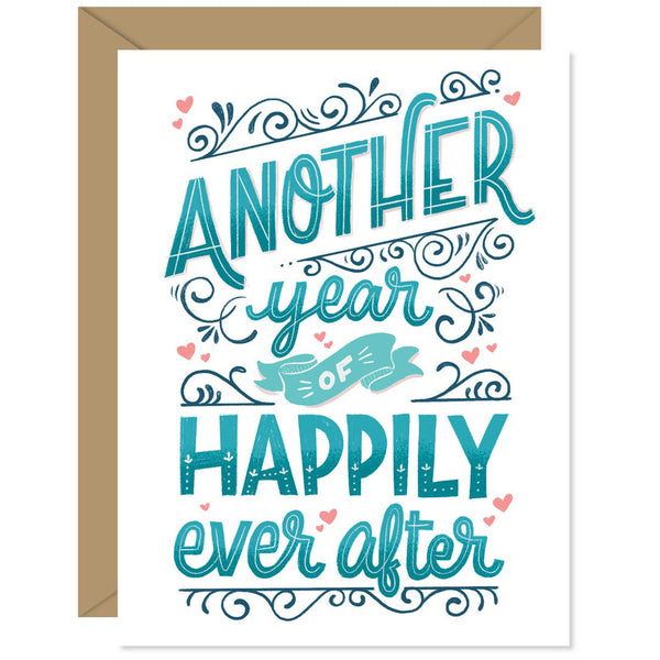 Happily Ever After Anniversary Card