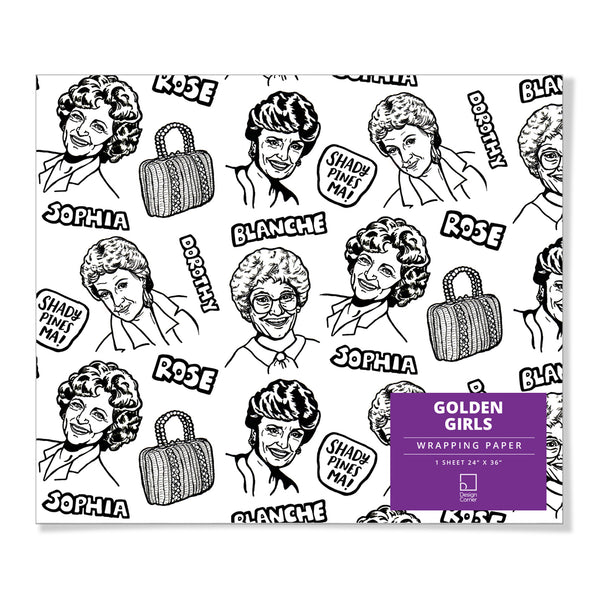 Golden Girls Gift Wrap